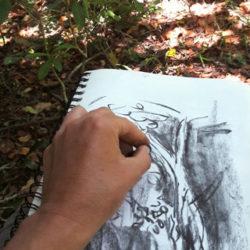 sketch-walk