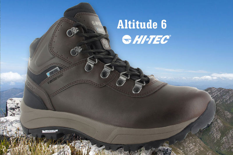 hi tec altitude pro 6 boot walking festival
