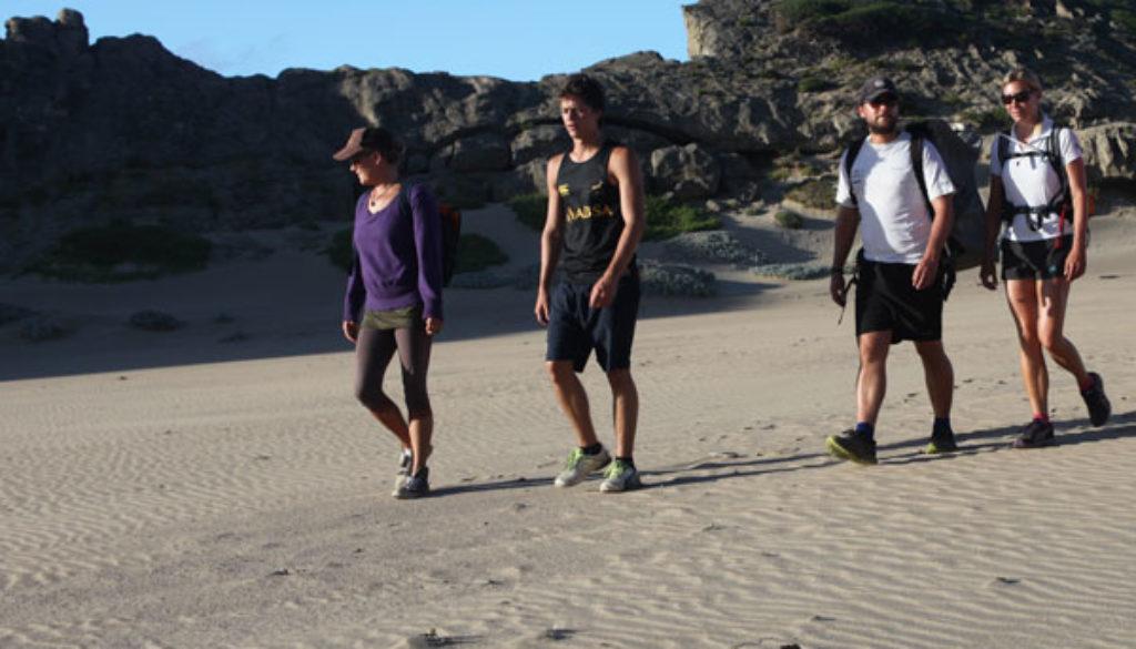 Group-on-beach